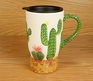 Creekside Cactus Travel Mug
