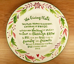 Creekside The Giving Plate