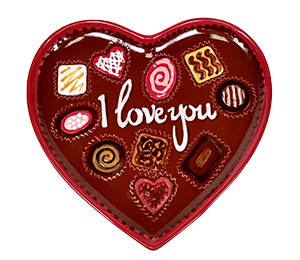Creekside Valentine's Chocolate